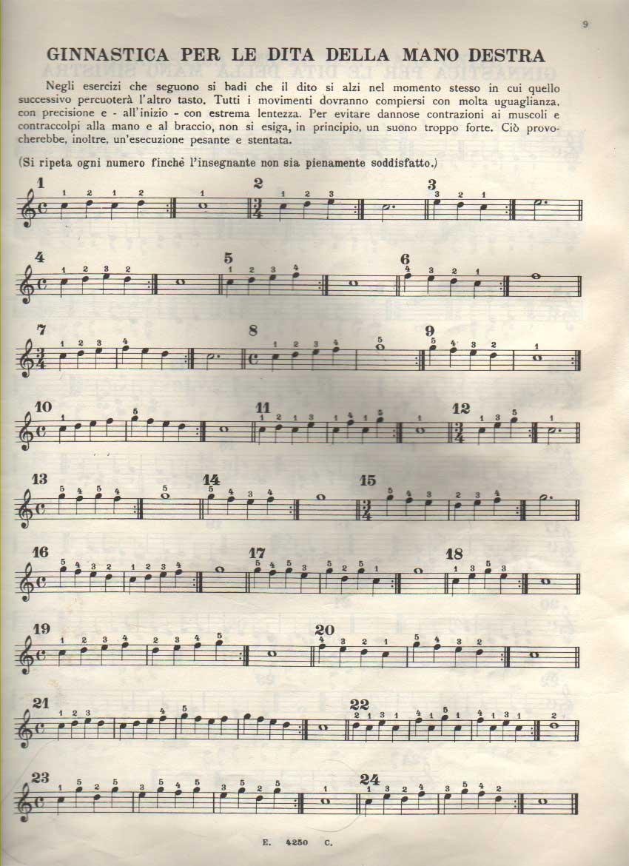non ti scordar di me sheet music pdf